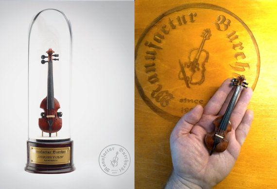 Handmade miniature instrument  English by ManufacturBurchardt