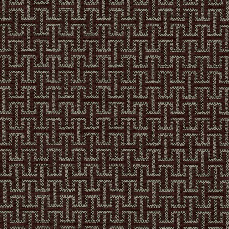Warwick Fabrics : SIGMA, Colour GARNET
