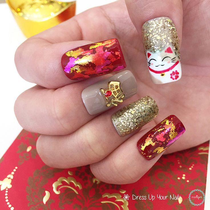 13 best Chinese New Year Nails - CNY Manicure Celebration ...