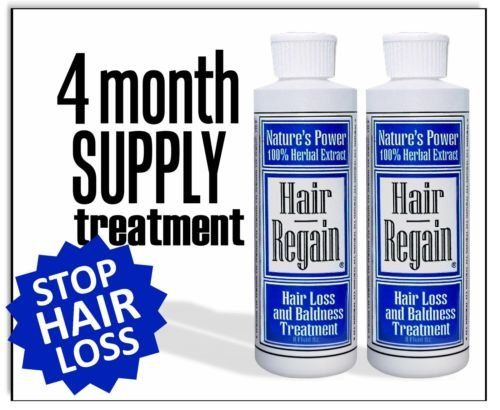 Introducing Hair Regain Hair Loss Shampoo  No Sulfates  4 Month Supply. Get Your Ladies Products Here and follow us for more updates!