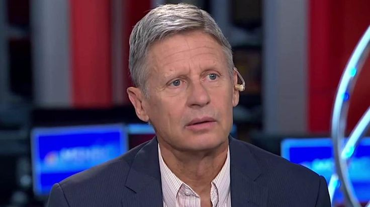 Mike Barnicle asks Libertarian presidential candidate Gary Johnson how he would…