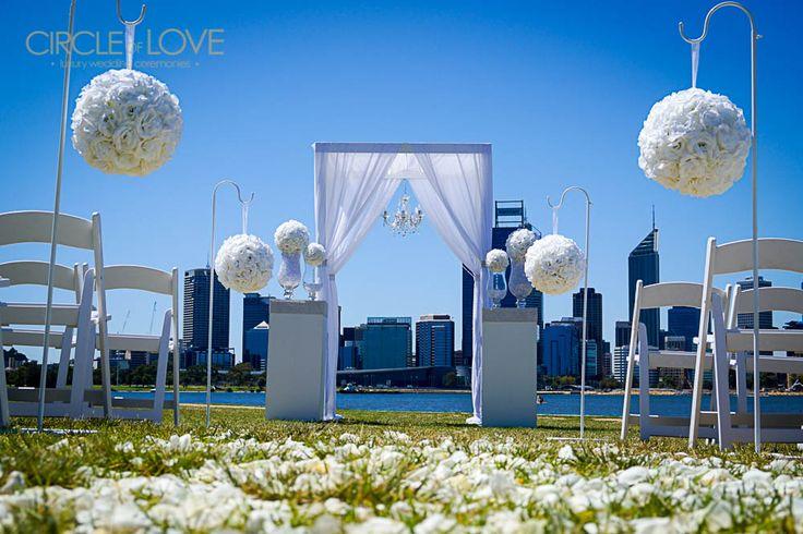 South Perth Foreshore www.circleofloveweddings.com.au