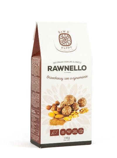 Orzechowy sen o cynamonie Rawnello Bio, 110 g - Raw And Happy Food