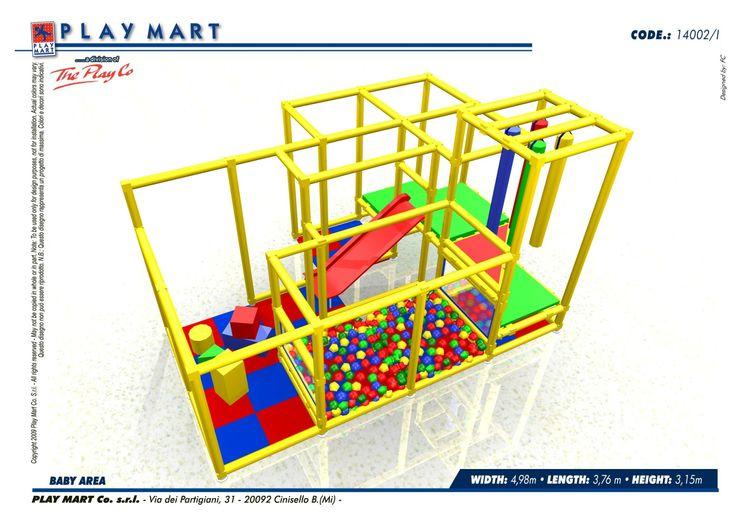 Play Mart - (Codice E) piccola struttura di gioco; capacità di oltre 20 bambini; possibilità di ampliamento; ottimo opportunità per pdv retail- anche a NOLEGGIO