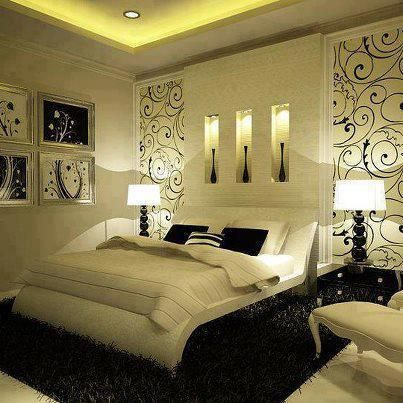 Awesome bedroom design! ♥