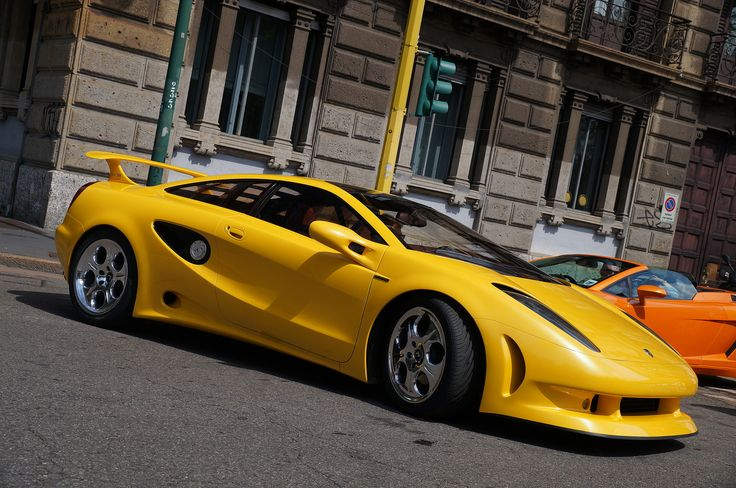 1 of only 3 ever made. Lamborghini Cala - Concept car