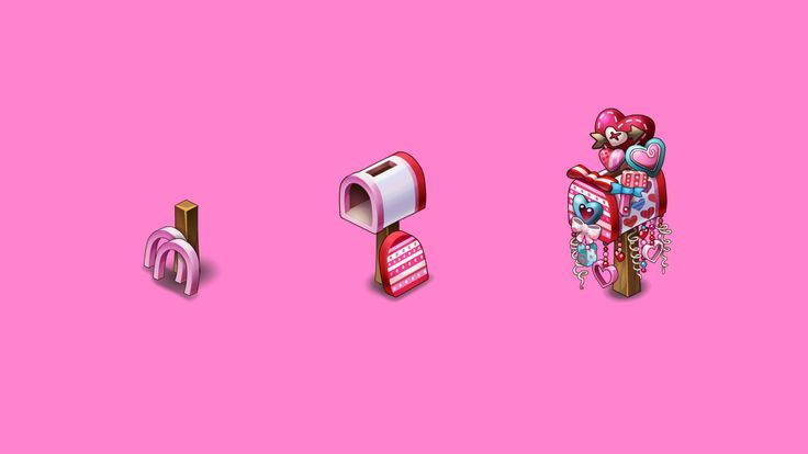 Valentine mailbox for Oasis: the last hope game