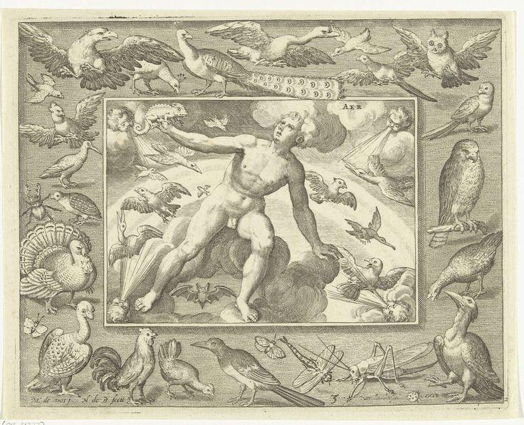 """""""Aer"""" by Nicolaes de Bruyn, 1581 - 1656"""