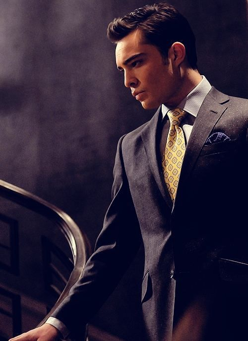 Ed Westwick || Chuck Bass *swoons*