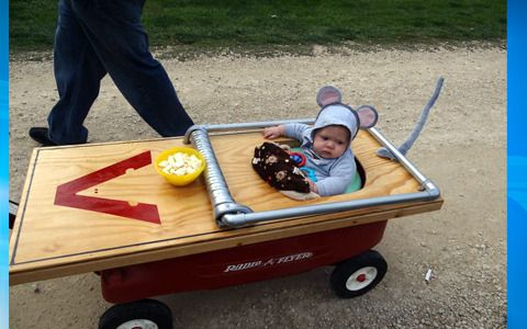 Mousetrap! Wow!! funniest and cutiest costume for a 6 month old