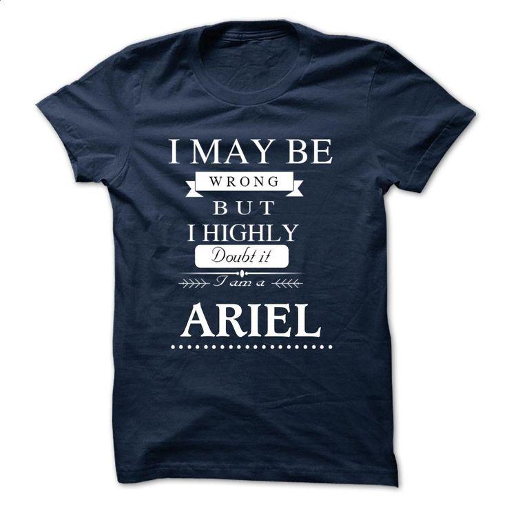 I LOVE ARIEL TSHIRT T Shirts, Hoodies, Sweatshirts - #geek t shirts #hooded sweater. ORDER HERE => https://www.sunfrog.com/Names/I-LOVE-ARIEL-TSHIRT.html?60505