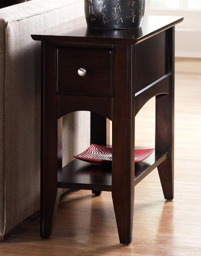 Riverside Cosmopolitan Chairside Table   Espresso Finish by Riverside  Furniture   366 51  13 in. 60 best Home   Kitchen   Living Room Furniture images on Pinterest