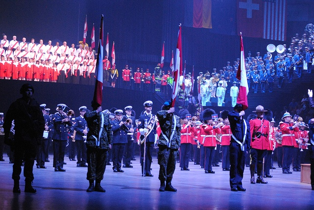 The Grand Finale at the Royal Nova Scotia International Tattoo