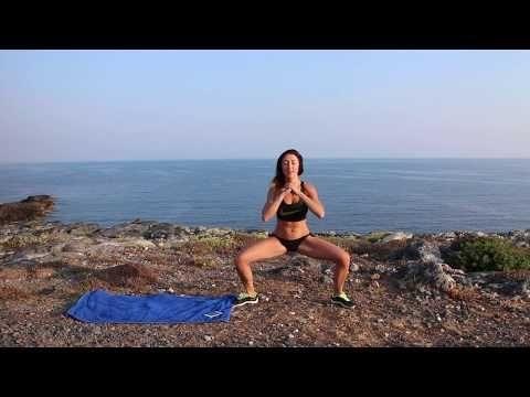 10 Minut HIIT na břicho, zadek, nohy   MonikaHIIT - YouTube