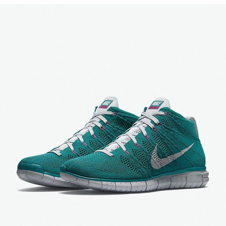 Nike Free Flyknit Chukka Men's Shoes Radiant Emerald/Rough Green/Fuchsia Flash/Pure Platinum 642
