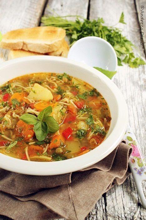 Supa Minestrone - Pasiune pentru bucatarie- Retete culinare