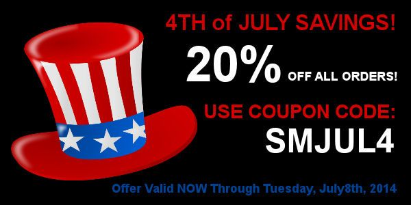 july 4th sales online