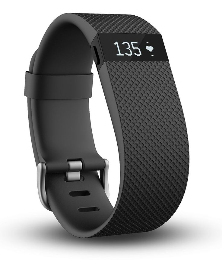 Amazon.com: Fitbit Charge HR Wireless Activity Wristband, Black, Large: Health & Personal Care