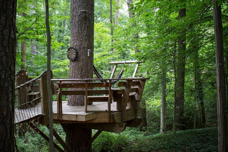 Check out this awesome listing on Airbnb: Secluded Intown Treehouse - Treehouses for Rent in Atlanta