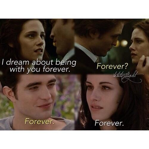Twilight & Breaking Dawn Part 2 #Twilight #BreakingDawn #Edward #Bella #TwilightSaga #Forever