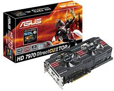 Asus just love their monster, triple-slot graphics cards. Wouldn't mind one of these in my rig, but two 5870s aren't too shabby either :)