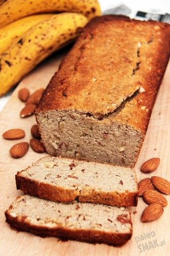 Chleb paleo bananowy z migdałami, PaleoSMAK