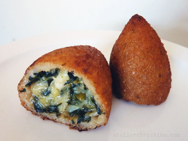 KIBBET BATATA | Yukon-Potato Kibbeh with Artichoke, Spinach + Cheese (Spinach and artichoke dip filled potato croquettes)