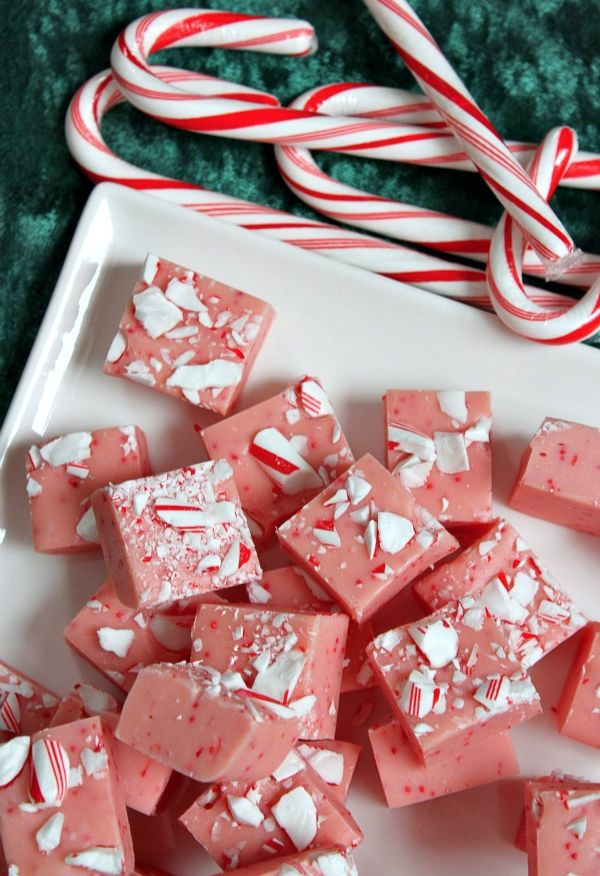Fudge and candy canes—pure heaven!