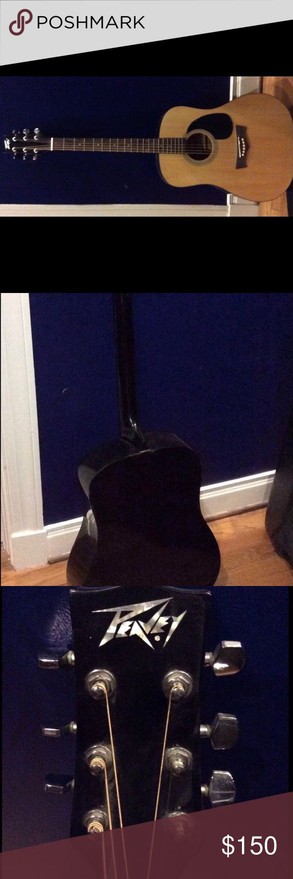 Peavey acoustic guitar 6 string acoustic guitar Peavey peavey Other