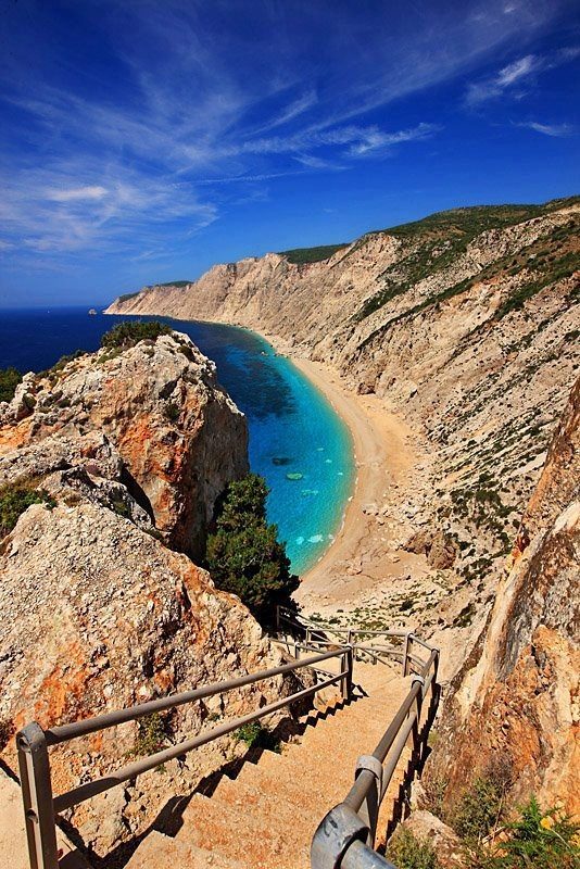 ..Cephalonia Platia Ammos Beach - GREECE