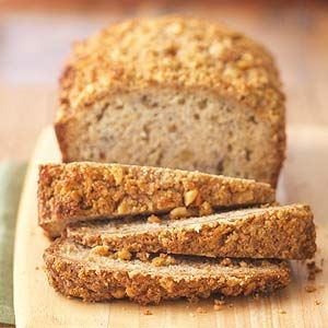 Banana Bread A banana nut bread recipe is a scrumptious way to use up overripe bananas. Here, a prep time of just 25 minutes makes this a wonderfully easy banana bread recipe.