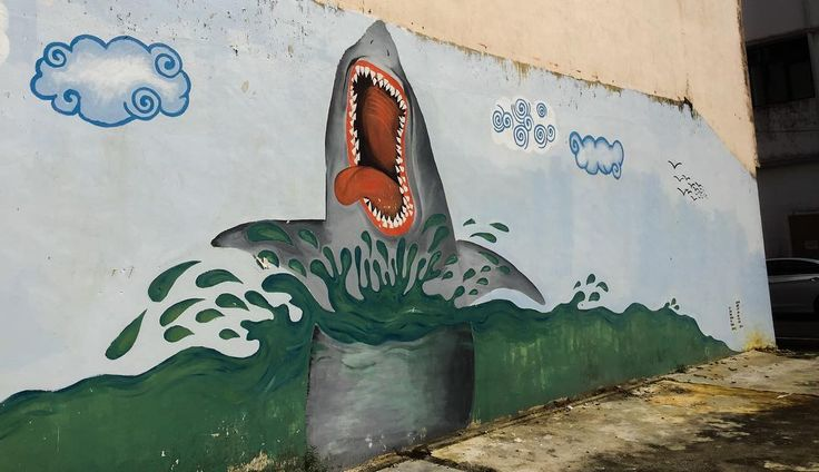 Nothing like fucked up street art #art #productionlife #nofilter #day #afternoon #streetart #streetphotography #mersing