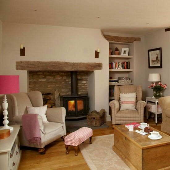 cosy neutral sitting room