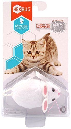 Interactive Cat Toys | Hexbug Mouse Robotic Cat Toy - Random Color (2-Pack) * Click sponsored image for more details.