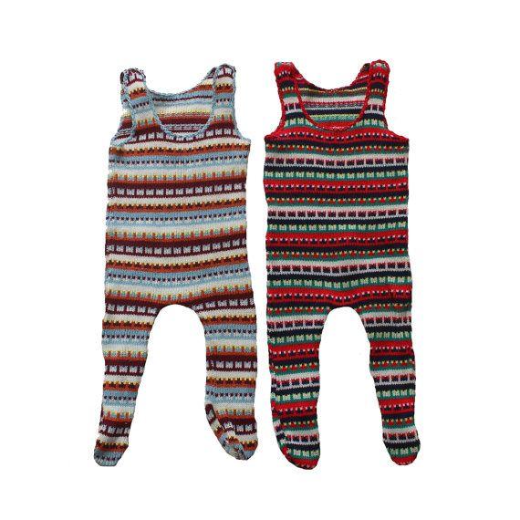 VINTAGE 70's / enfant / combinaison / pyjama par Prettytidyvintage, €14.50
