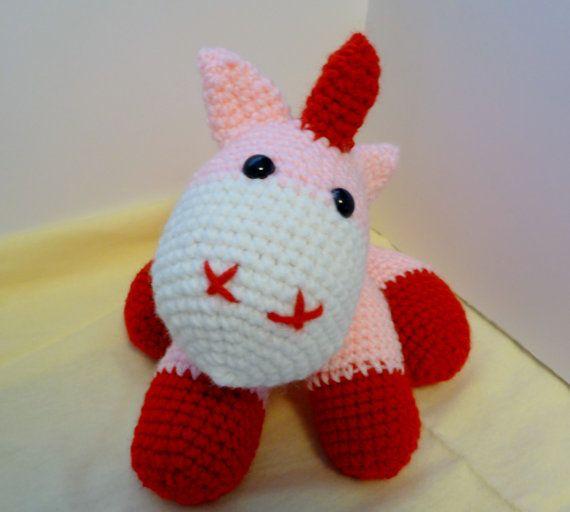 Amigurumi Crochet Unicorn : Crochet Amigurumi Unicorn
