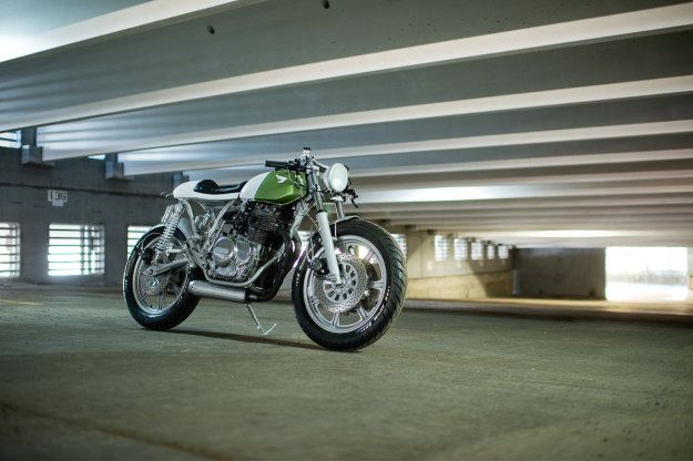 An epic piece of workmanship out of Canada.  Federal Moto's Yamaha XS400
