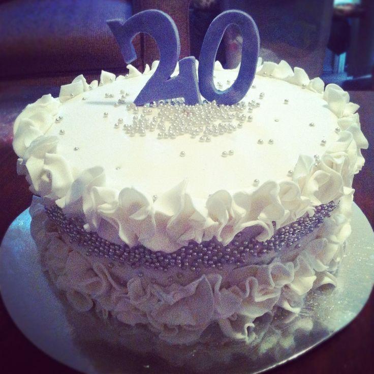 Фото торт на 20лет