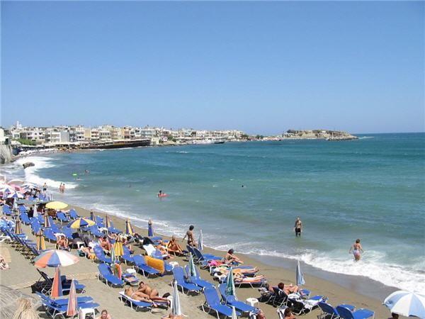 Hersonissos beach, Heraklion Crete