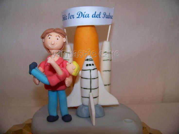 Tarta Cohete para el Día del Padre - Fantastic Cake