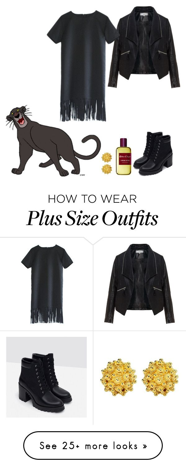 """Bagheera"" by kimmmeo on Polyvore featuring Bagheera, Zizzi, Rein, Zara and Atelier Cologne"