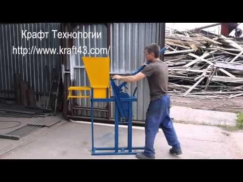 #Станок для #Лего #кирпича (Механический) - «Крафт Технологии»