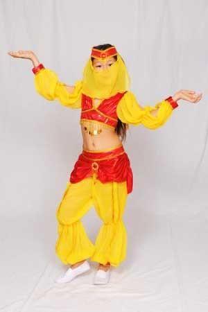 Детские новогодние костюмы восточный