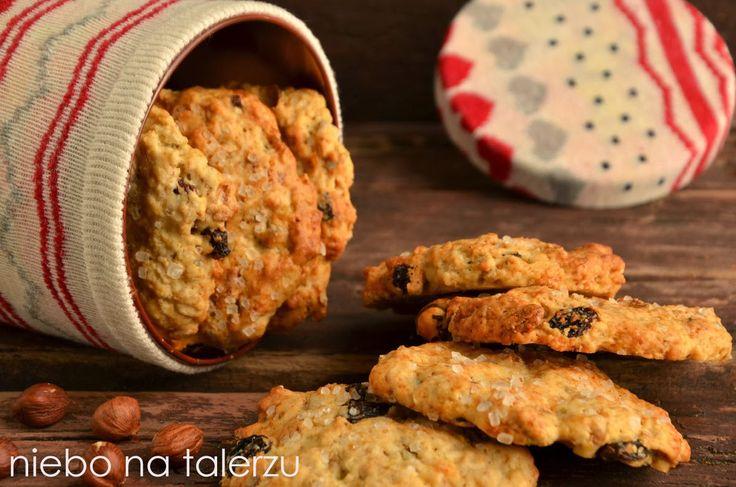 niebo na talerzu: Szybkie ciasteczka owsiane