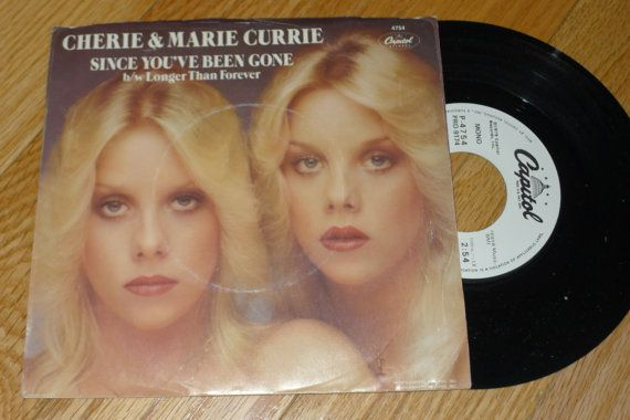 Vintage CHERIE & MARIE CURRIE Since You've Been by BonanzaRecords, $8.00