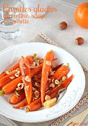 Pour ne pas se lasser des carottes, ou pour faire aimer (adorer !) les carottes, cette recette de Jamie, légèrement modifiée, est juste parfaite. A décliner avec des oranges quand la saison des clémentines sera passée.