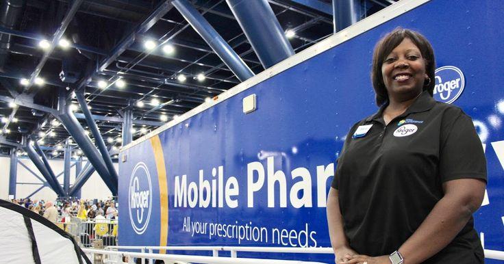 Dr. Marla Fielder Regional Head of Pharmacy for Kroger Co.  750 Prescriptions Filled for Displaced Houstonians in Need at the George R. Brown Convention Center  Krogers Mobile Pharmacy Trailer is on-site at the George R. Brown Convention Center to serve displaced Houston families affected by Hurricane Harvey. Hundreds of guests each day are having prescriptions filled. There are no restrictions re: the originating pharmacy--the team can fill prescriptions from any pharmacy as well as…