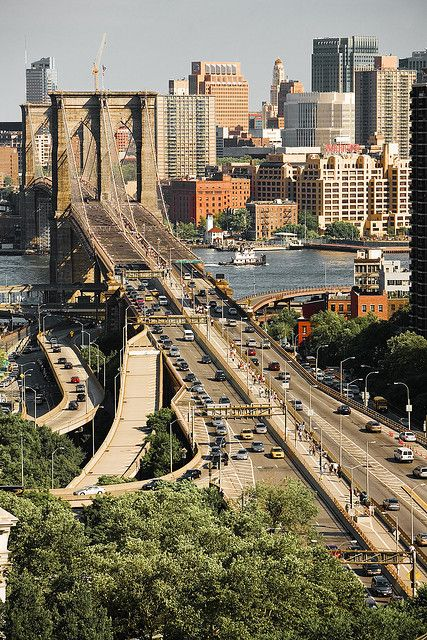 Brooklyn Bridge ~ New York City, New York