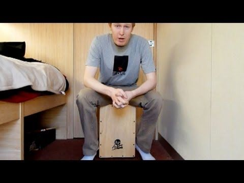 Ross Cajon Lessons | Ample Cajon Drum  Double Paradiddle Rudiment My first cajon lesson demonstrating the double paradiddle on the cajon.The double paradiddle is one of the 40 snare drum rudiments, but I thought it might be a good pattern to play on cajon too! http://www.amplecajondrum.com/free-cajon-drum-lesson/ross-cajon-lessons/