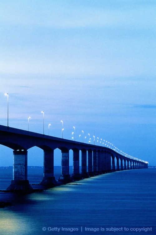 Confederation Bridge, Prince Edward Island, New Brunswick, Canada